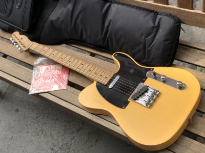 Fender Road Worn 50s Telecaster Vintage Blonde